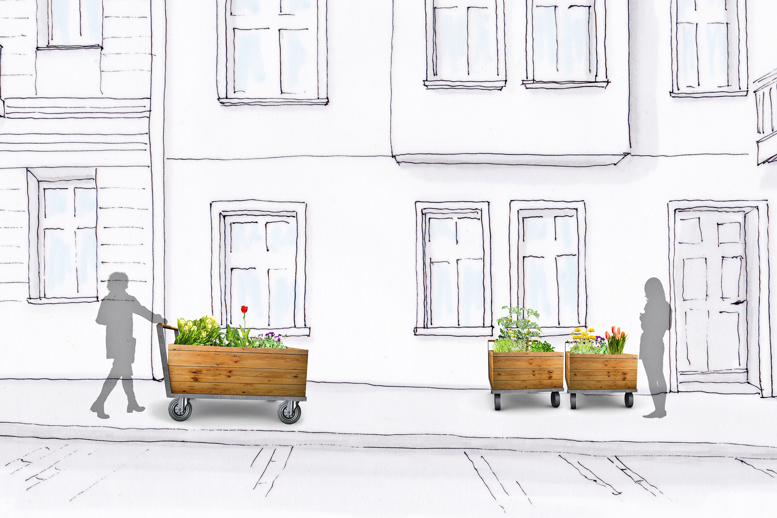 Green to go – Nina Kaluza | Illustration: Nina Kaluza