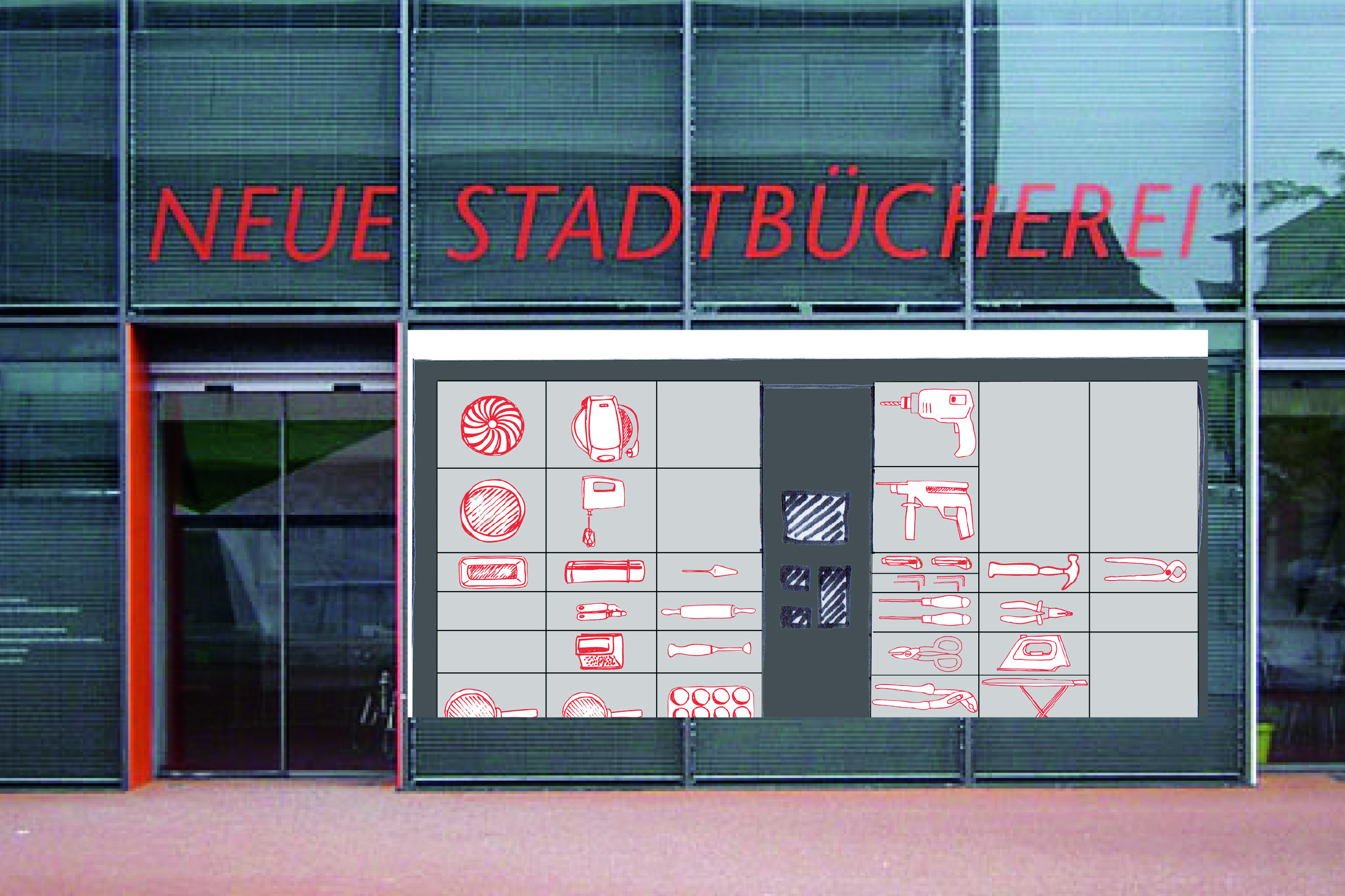 Packstation – Hanna Berlemann | Photo and Illustration: Hanna Berlemann