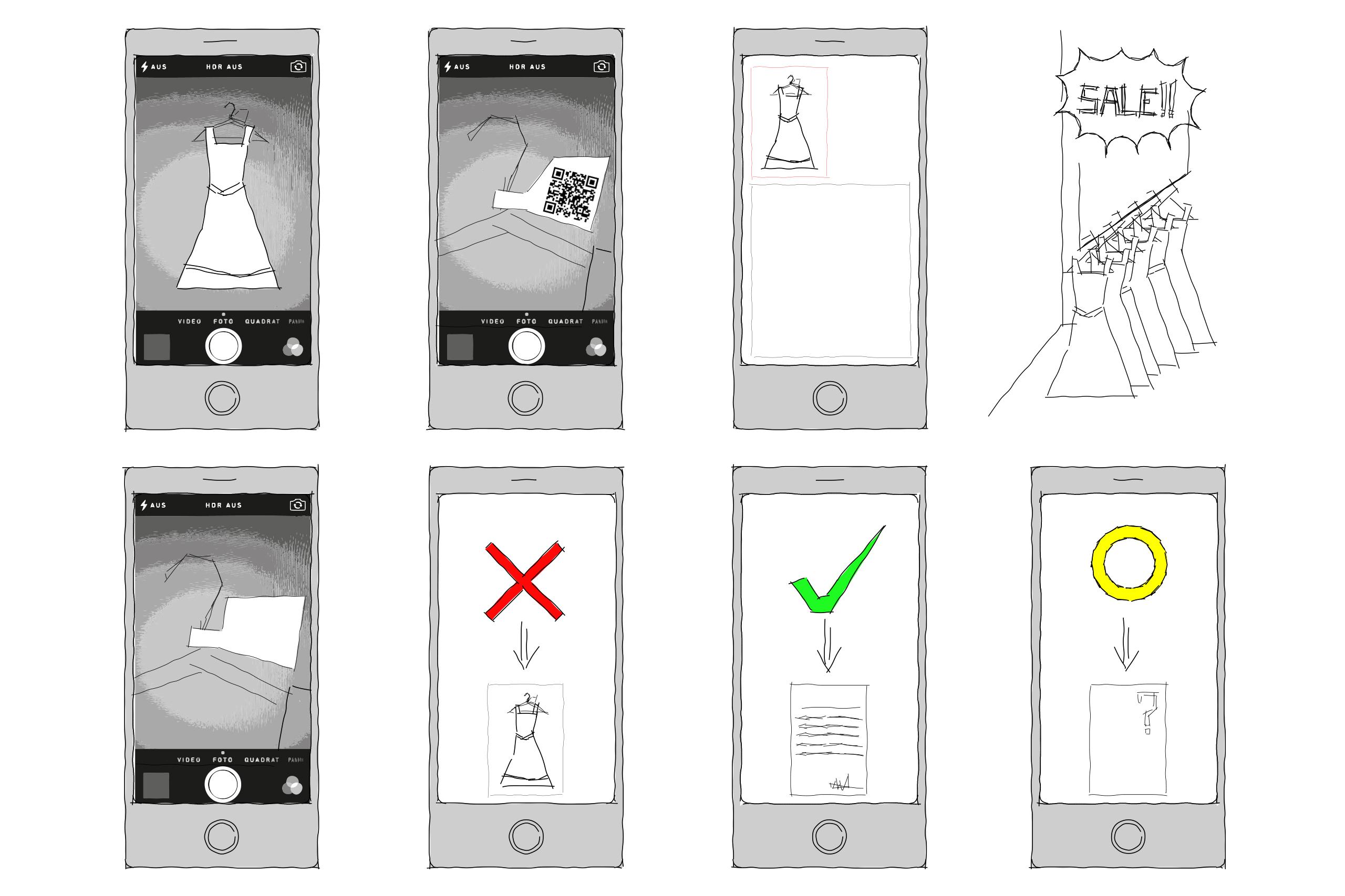 Archive App – Jessica Baumgarten | Illustrations: Jessica Baumgarten