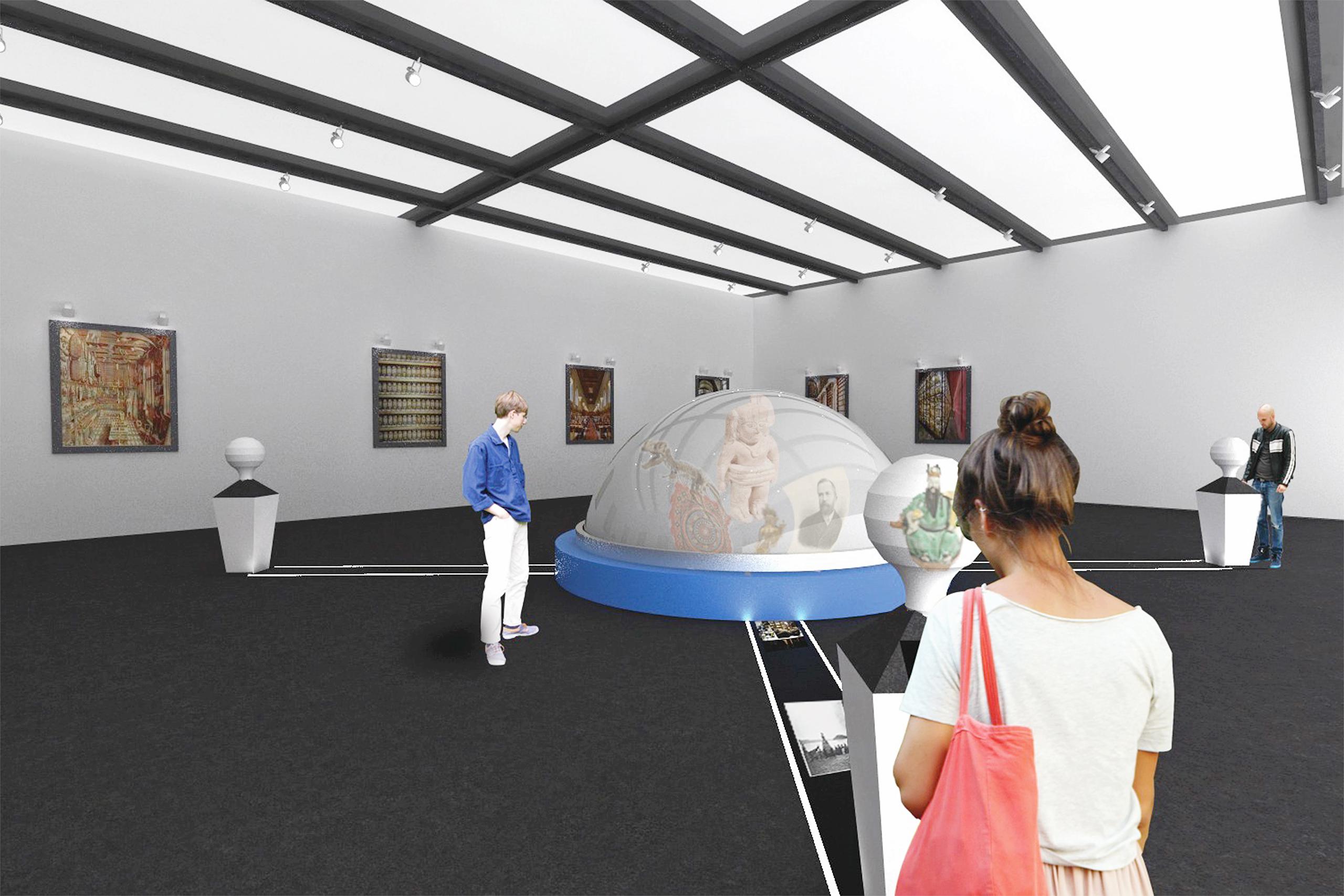 Add'n Move (exhibition concept) – Katharina Klotz | Illustration: Katharina Klotz