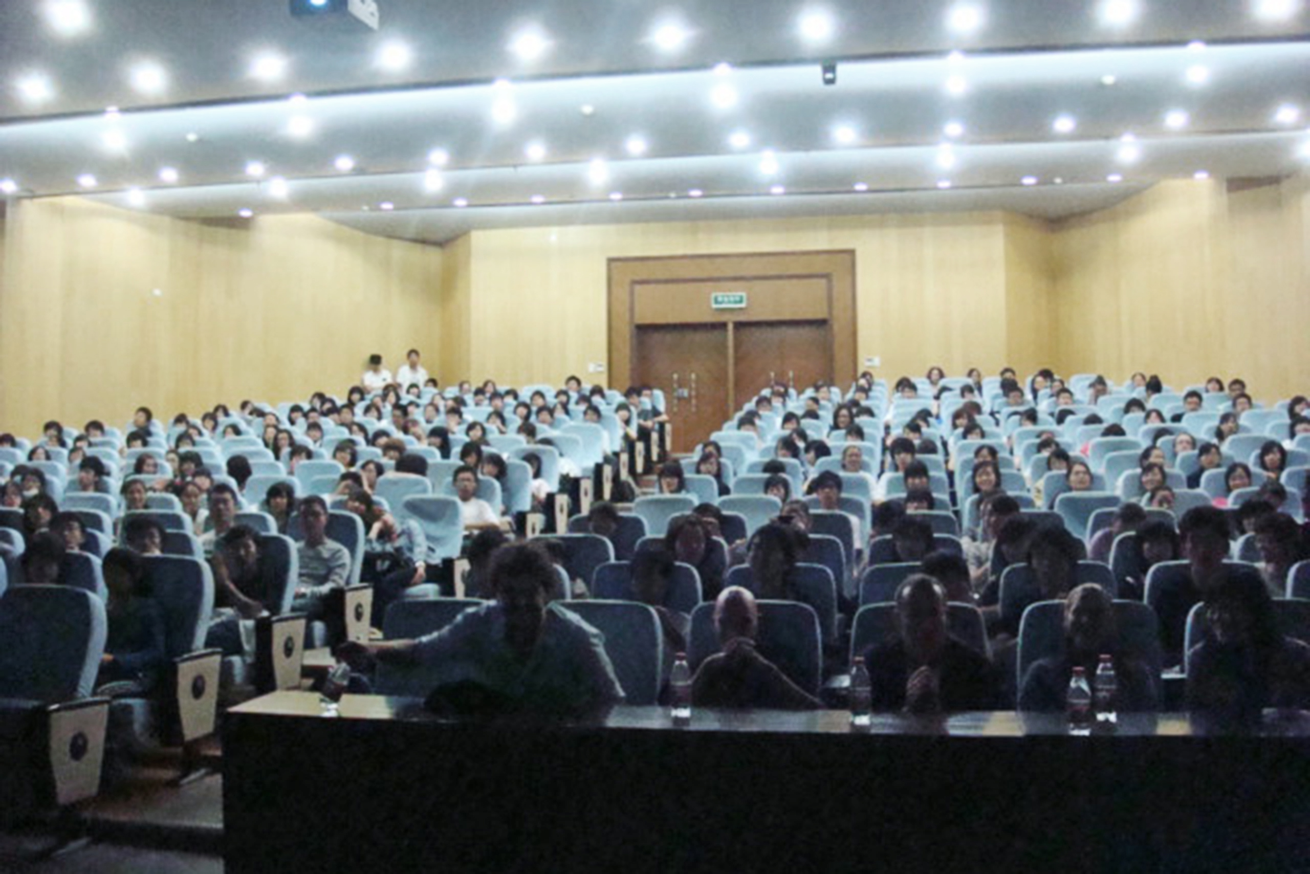 Lecture at the Art Design College of Zhejiang Gongshang University