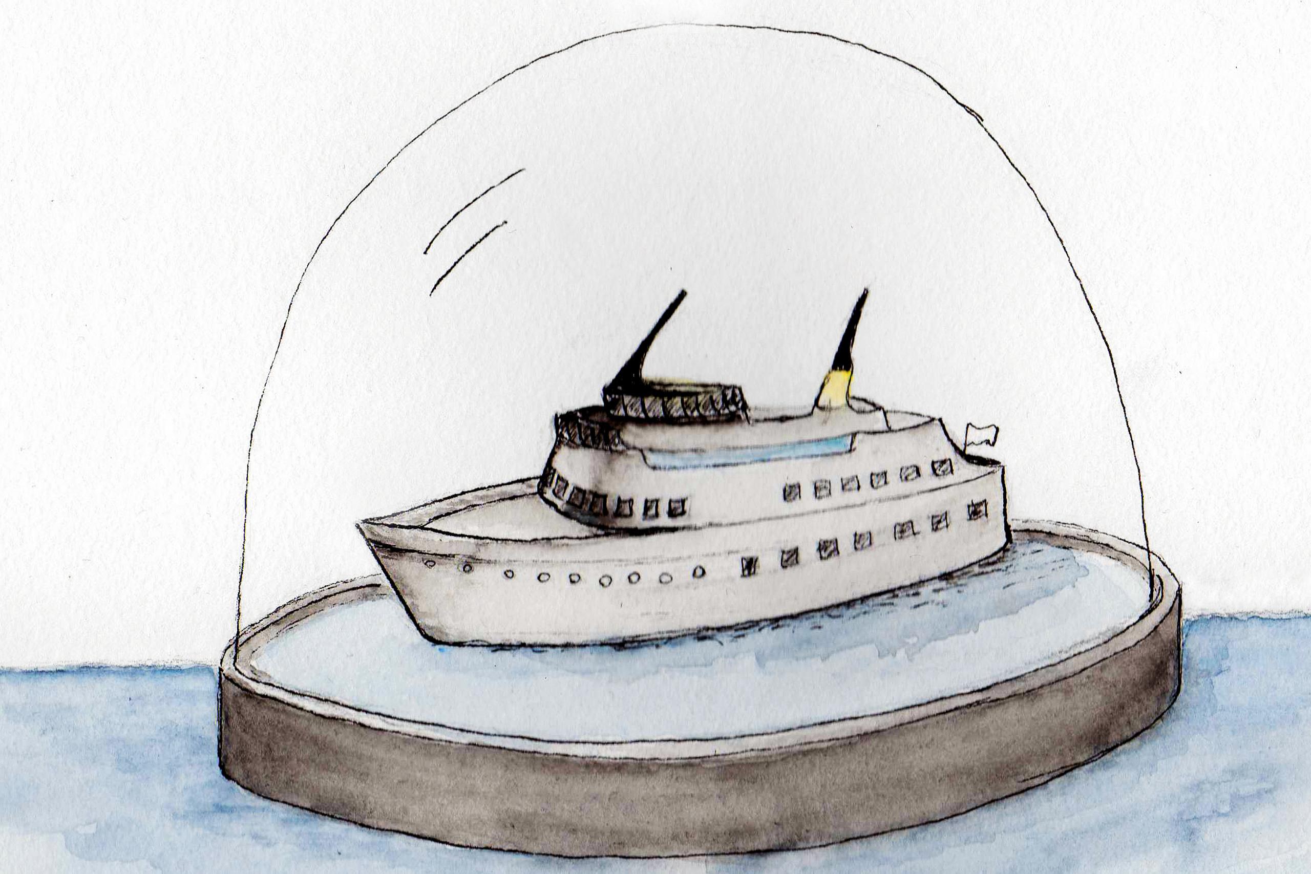 Traumwelt?! – Sandra Hasenpusch | Illustration: Sandra Hasenpusch