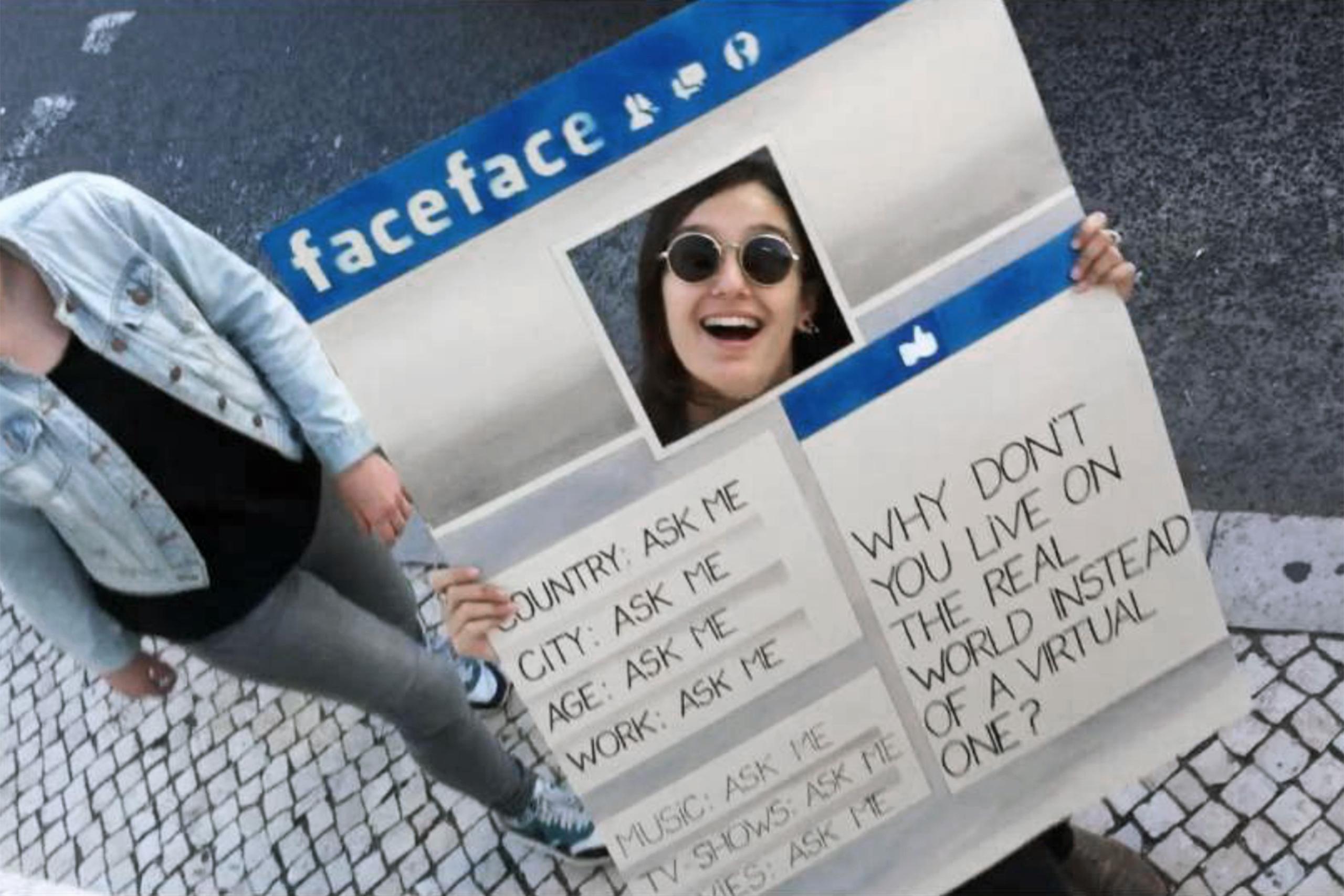 faceface – Eva, Theresa, Ruben, Patricia, Joana | Photo: Joana
