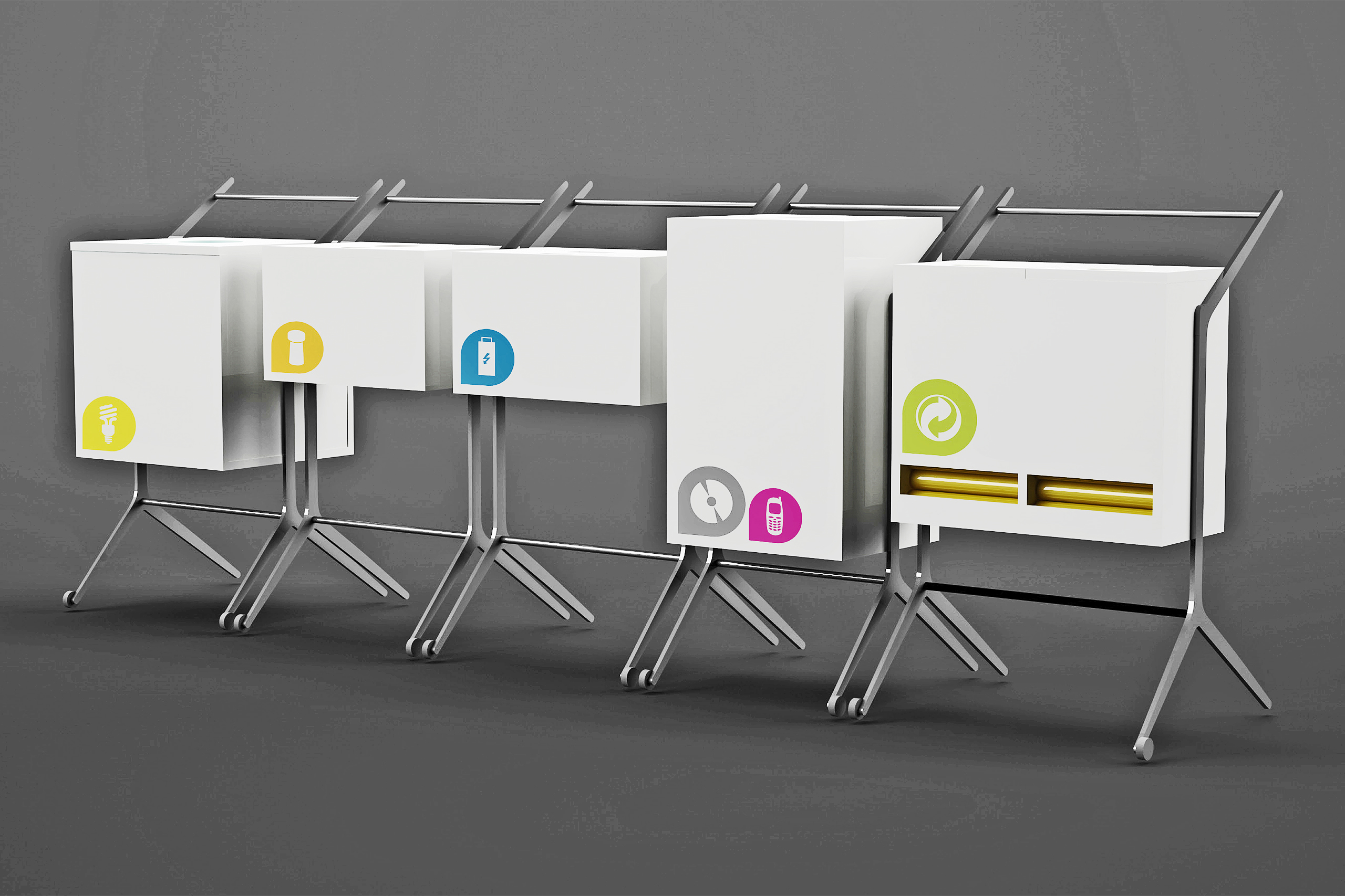 Recycling Terminal – Lydia Jochim (BA) | Illustration: Lydia Jochim