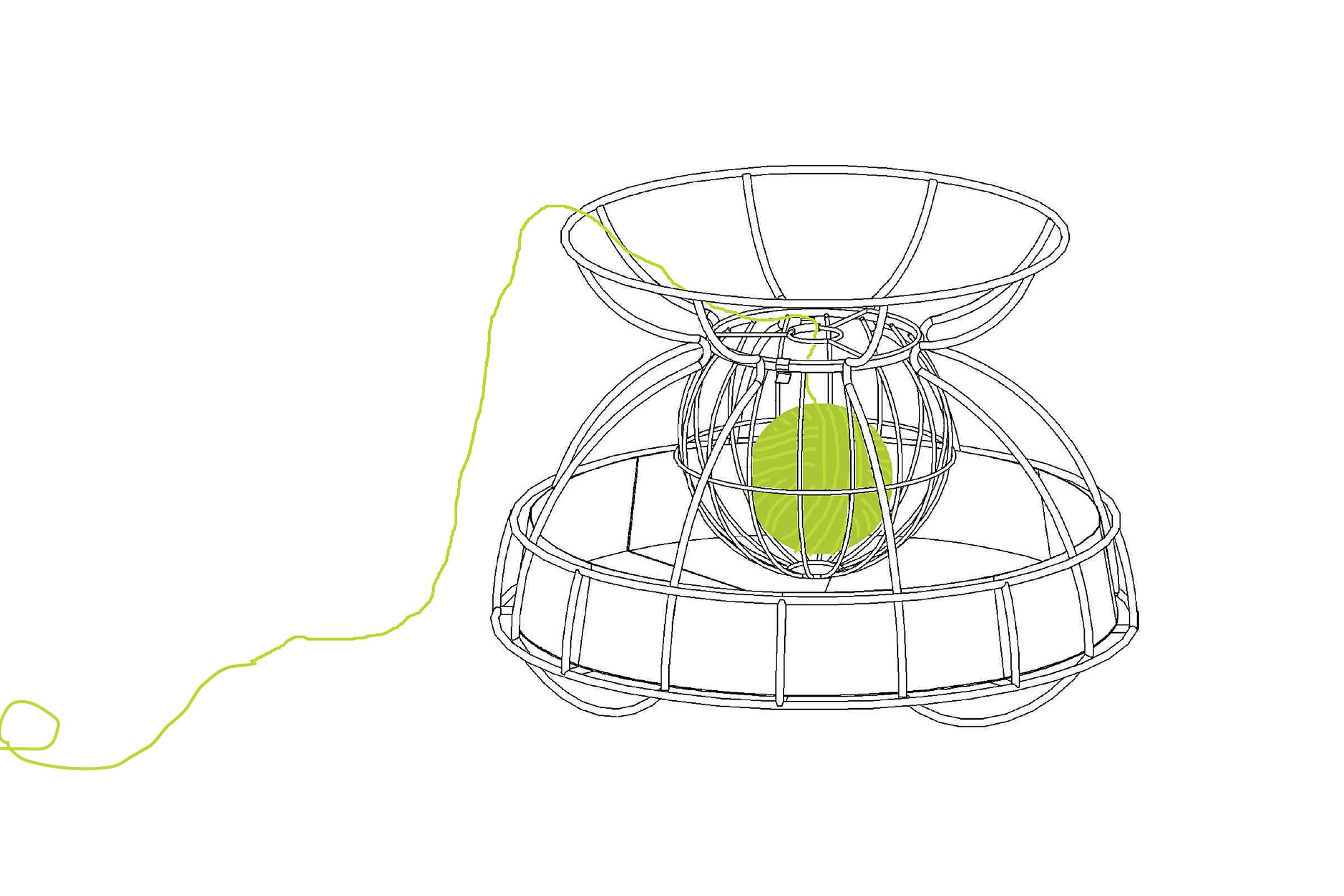 Knitting Basket – Judith Woker (BA)   Illustration: Judith Woker