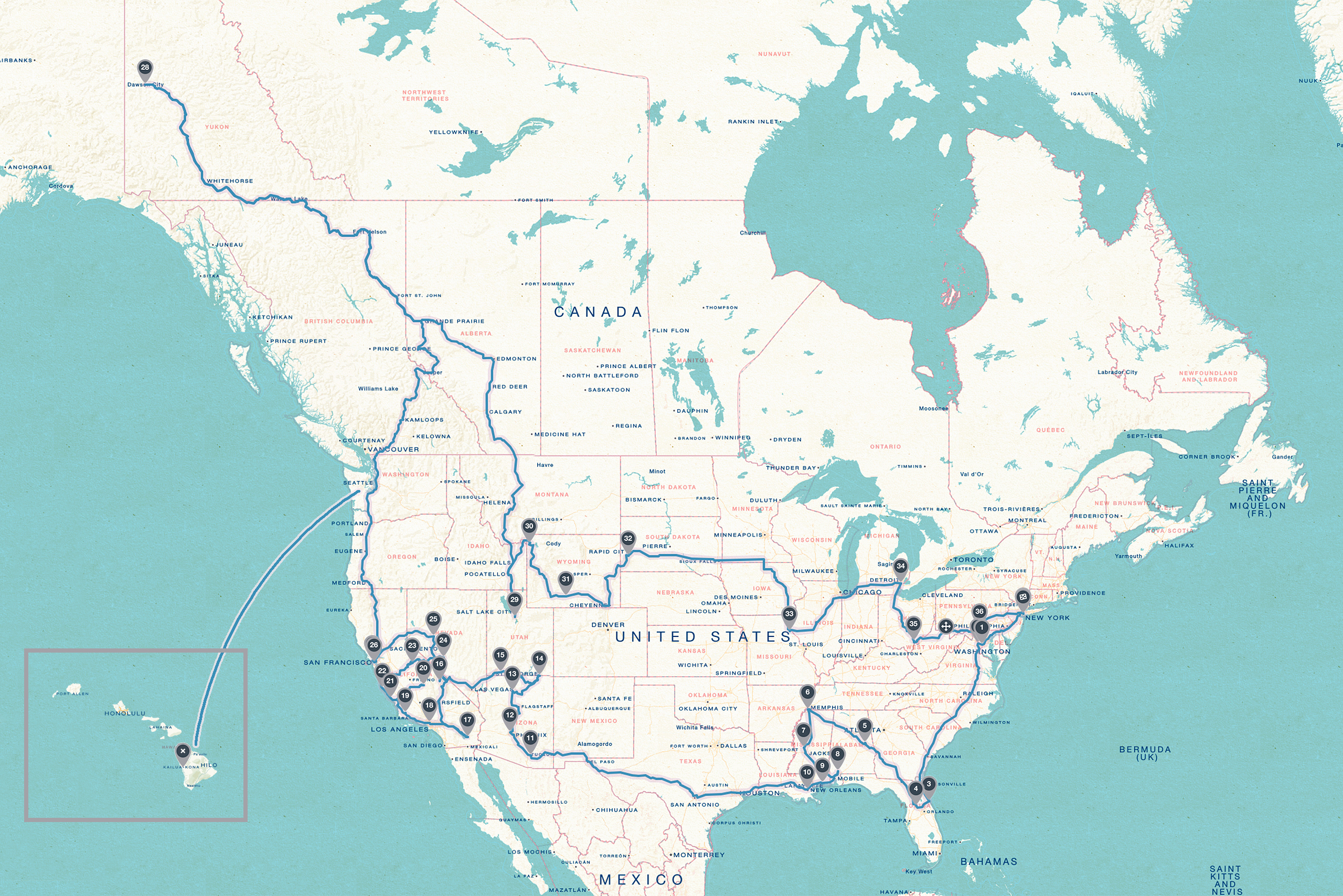 This map was created with roadtrippers.com