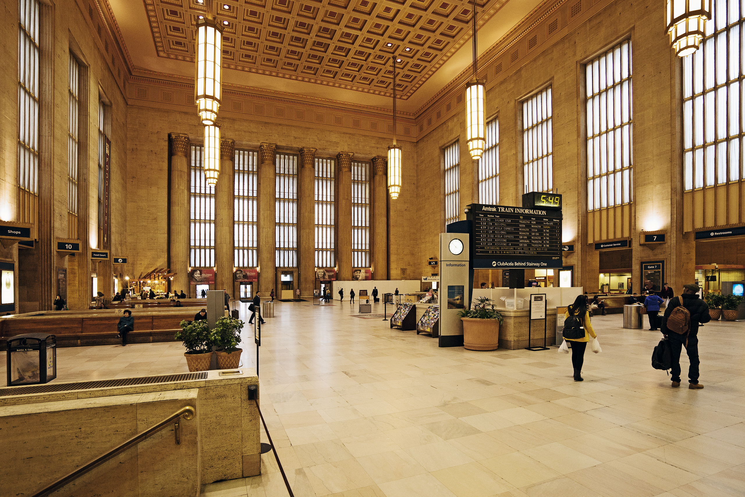 Central Station; Philadelphia | Photo: Matthias Ries