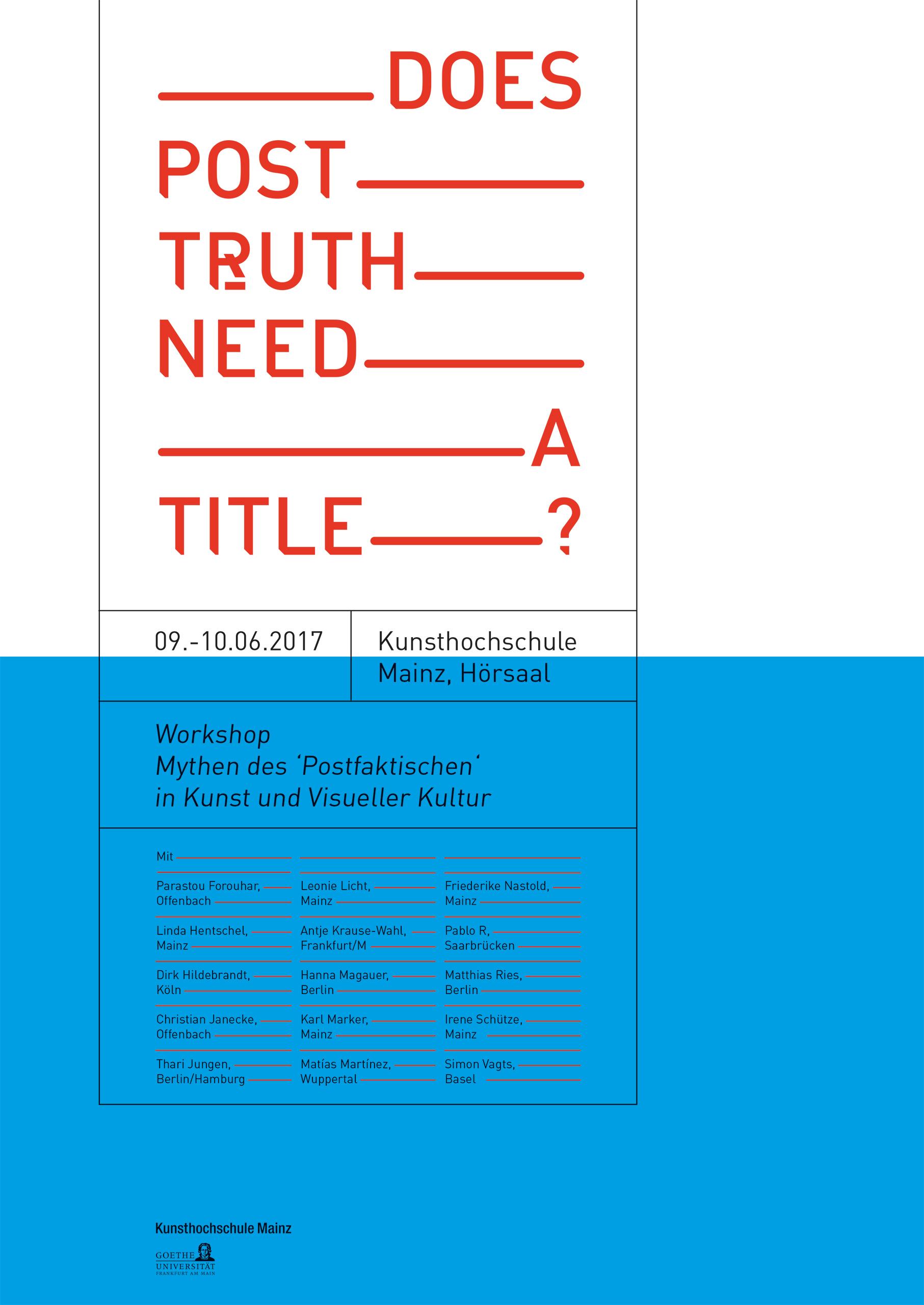 Copyright: Kunsthochschule Mainz