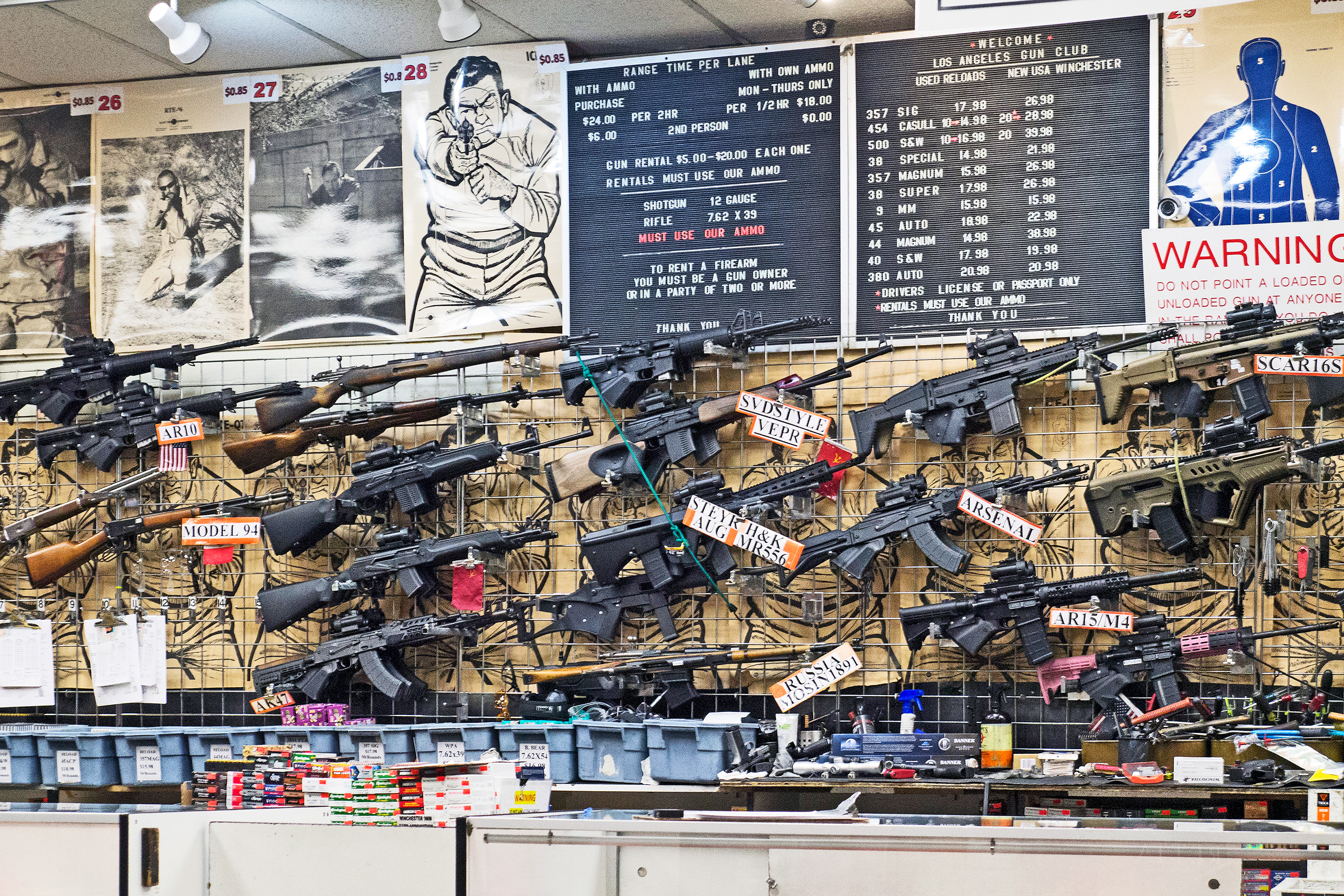 Gun Club – Los Angeles | Photo: Veronika Schneider