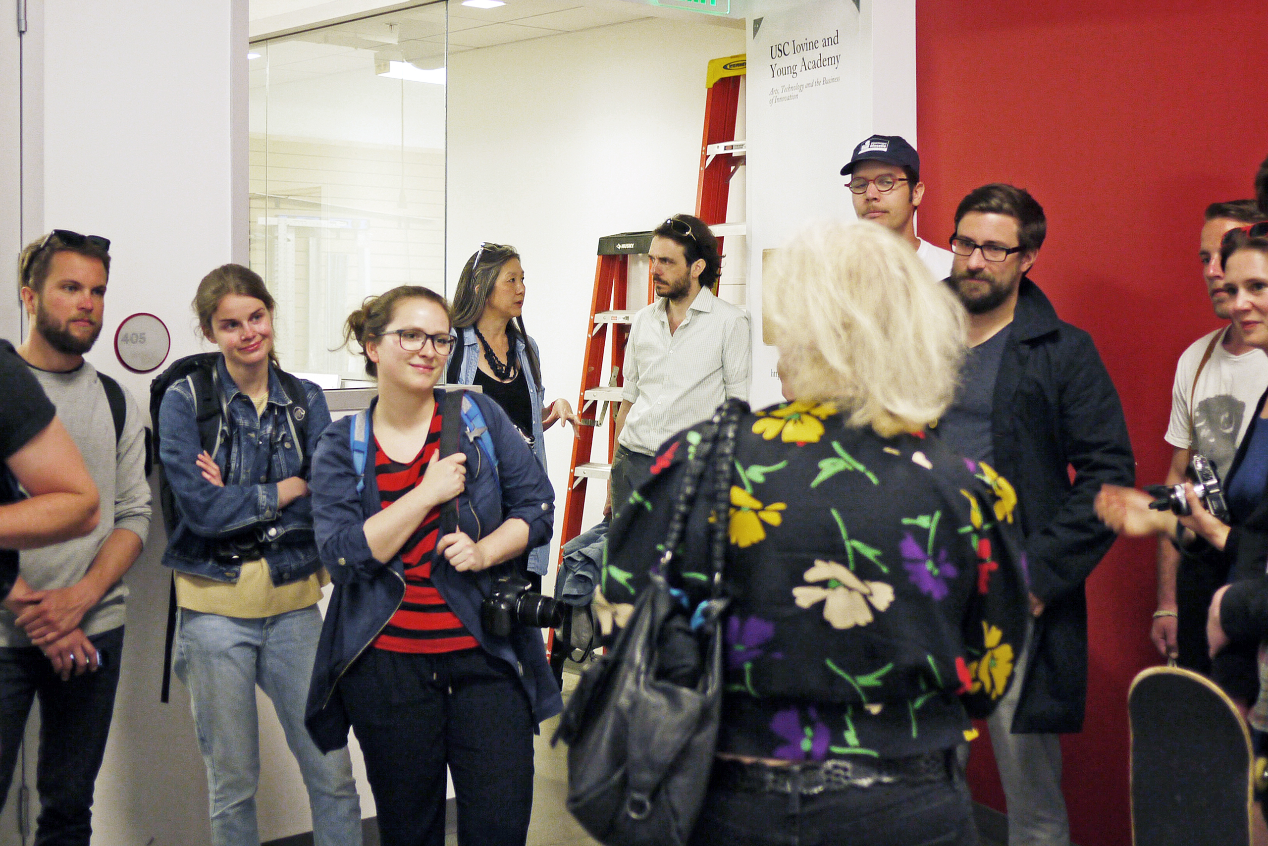Roski School of Design (USC) with Prof. Haven Lin-Kirk and Prof. Ewa Wojciak; Los Angeles | Photo: Leonarda Spassova