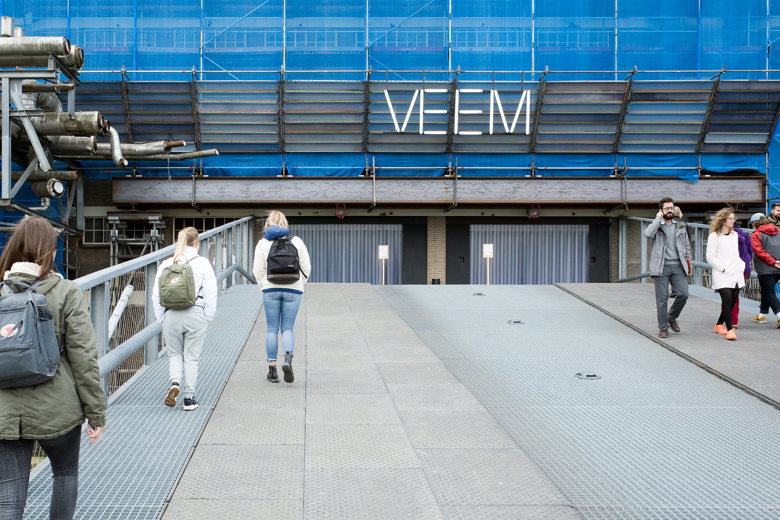 At the VEEM exhibition during the Dutch Design Week in Eindhoven