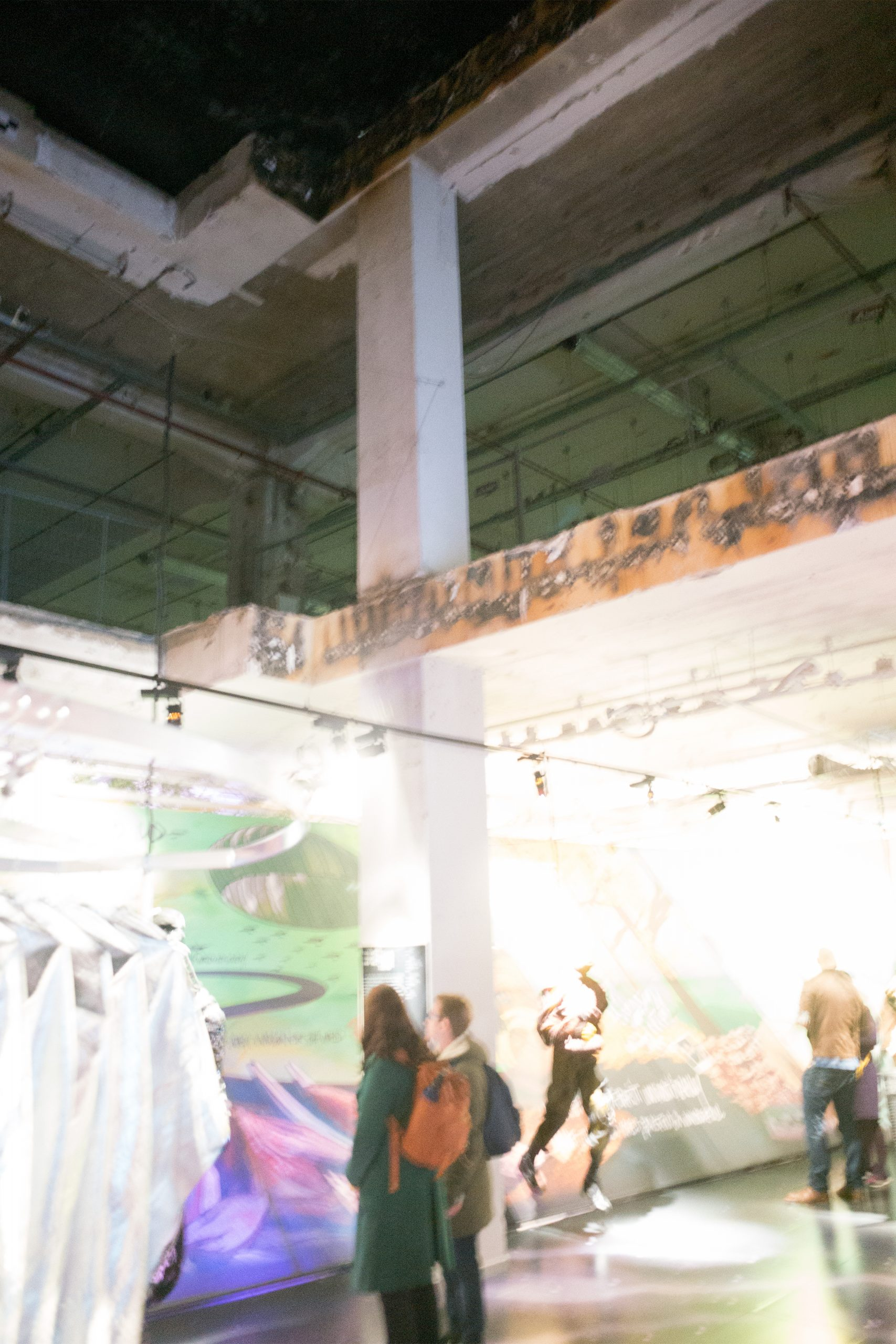 At the New Order of Fashion / Modebelofte: The End is Near exhibition during the Dutch Design Week in Eindhoven