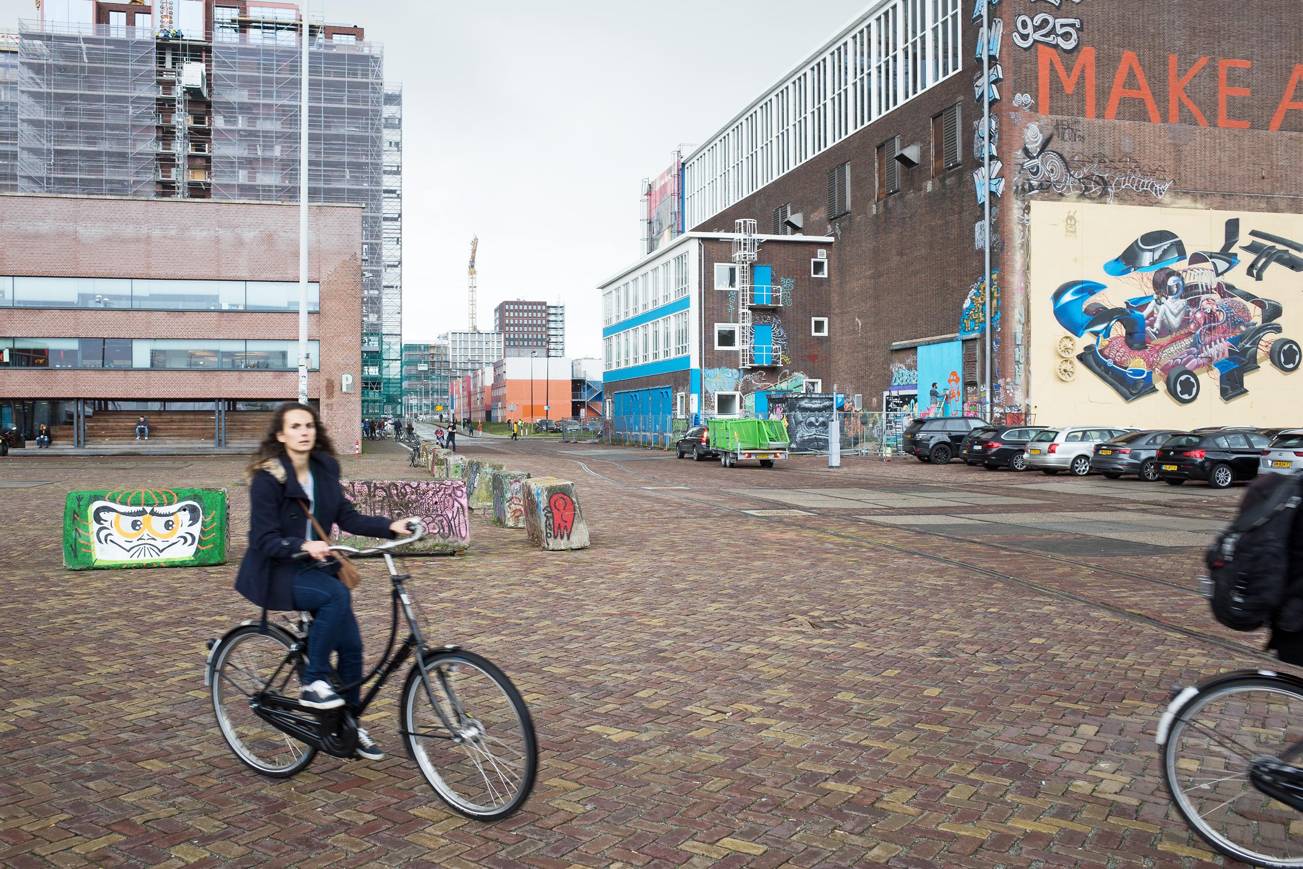 NDSM Wharf in Amsterdam
